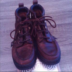 Justin Chucka Lace Ups Boots